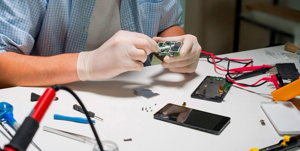 mobile repairing authorized service centres
